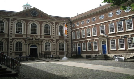 Court yard at The Bluecoat - Liverpool